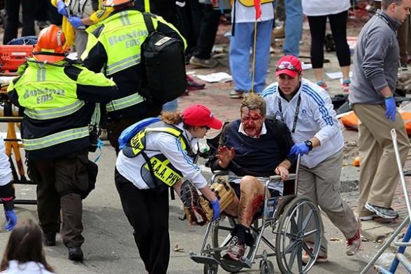 victimas Maraton boston