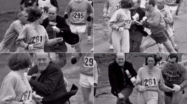1era mujer corredora Boston